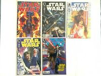The Star Wars 2013 Dark Horse Comics Lot of 5 Issues 1-5