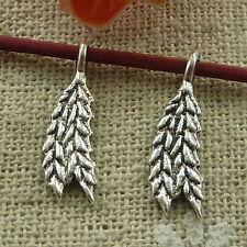 free ship 400 pieces tibetan silver ear of wheat charms 19x6mm #2861