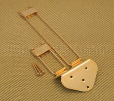 TP-0433-002 Frequensator Style Guitar  Trapeze Tailpiece Gold Archtop Models
