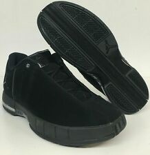 0afc697195689e Jordan Team Elite TE 2 Low Mens Off Court Black Basketball Nubuck AO1696 003