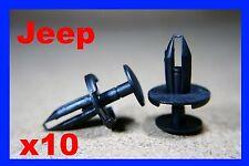 10 JEEP Cherokee bumper fender wheel arch lining panel plastic fastener