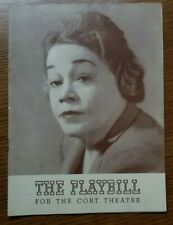 The Walrus And The Carpenter Pauline Lord/1941 Playbill