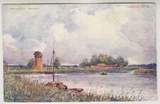 Norfolk postcard - The Old Mill, Cantley (A352)