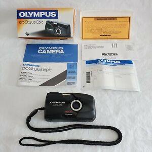 Olympus Infinity Stylus Epic (Mju-II) Point and Shoot 35mm Film Camera 102-320