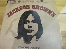 "SYL9002 12"" 33RPM 1972 STEREO JACKSON BROWNE ""SATURATE BEFORE USING"" VG A2/B1"