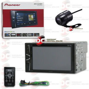 """PIONEER 6.2"""" TOUCHSCREEN USB DVD CAR BLUETOOTH STEREO + REMOTE FREE REAR CAMERA"""