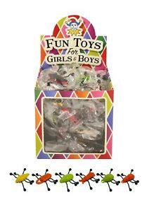 3 - 48 Window Walker Crawler Bugs Insect Party Bag Filler Xmas Stocking Birthday