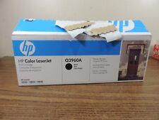 New Genuine HP Color LaserJet 2550 2820 2840 Printer Black Toner Q3960A HP 122A
