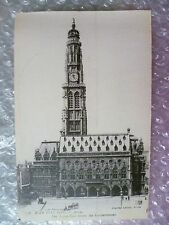 Postcard- ARRAS Before the Bombardment War 1914-1916 The Town Hall, No. 4