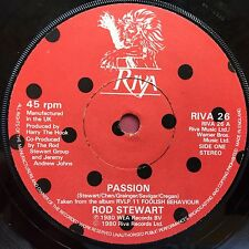 Rod Stewart - Passion / Better Off Dead - Riva 26 Ex Condition