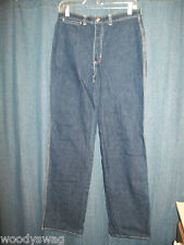 MS. by U.R. Free Jeans size 14 Cotton Pre Owned White Stitching Vintage Dark