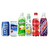 ☆ 6x Japanese Soda Snack Box ☆ Japan Exclusive Exotic Candy Pop Assorted