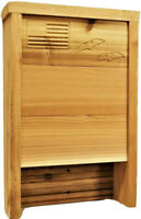 Western Red Cedar Bat House Shelter Friendly Mosquito Control Made in USA