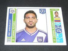 322 ALVAREZ BELGÏE ANDERLECHT PANINI FOOTBALL UEFA CHAMPIONS LEAGUE 2014-2015
