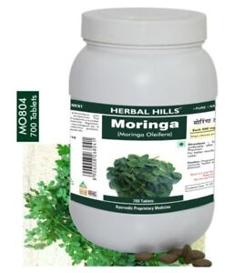 Herbal Hills Moringa Oliefera, 700 Tablets 500 mg - FREE Delivery (best quality)