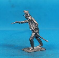 Russian-Turkish War Russian infantry White metal figures Tin toy soldier 54 mm