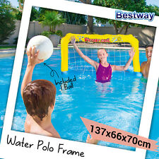 New Bestway Inflatable Water Polo Pool Frame Set Toys Pool ball Sports 52123