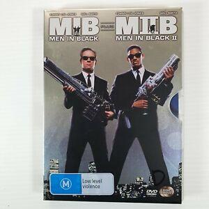 Men In Black Movie Pack 1, and 2 Region 4 DVD Steel Case Free Postage