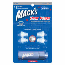 Mack's HEAR PLUGS High Fidelity Musician Earplug Music Ear Concert Jamming #16