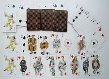 VINTAGE DECK OF PIATNIK AUSTRIAN PLAYING CARDS EUROPEAN ROYALTY & NOBLES DESIGN