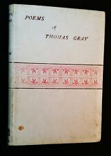 Selected Poems Of Thomas Gray - 1885 Vellum Binding