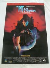 PIT & THE PENDULUM movie poster LANCE HENRICKSON Full Moon Horror original video