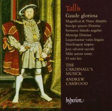 THOMAS TALLIS, GAUDE GLORIOSA, SEALED 11 TRACK CD ALBUM FROM 2005