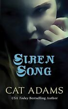 Siren Song (The Blood Singer Novels) by Adams, Cat, Good Book