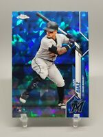 ISAN DIAZ 2020 Topps Chrome Sapphire Base RC Rookie #278 (Marlins)