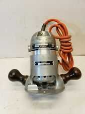 Vintage Stanley Router Type 11-A w/Base Model 13-A 115v, 3 amp  Free Shipping