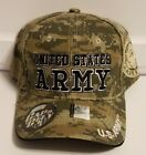 NEW United States Army U.S Army Strong Camo Baseball Cap Hat Adjustable