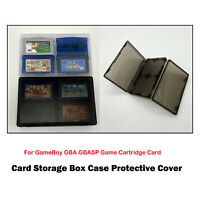 Cartridge Card Case Game Storage Case Box For GameBoy GBA GBASP Game Accessory
