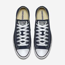 Herren Converse Schuhe Marineblau All Star Chuck Taylor Niedriges Top Ox M9697