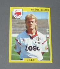 85 M. NIELSEN DANEMARK LILLE OSC LOSC DOGUES PANINI FOOTBALL FOOT 92 1991-1992