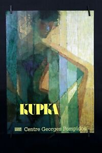 Frantisek Kupka - Plan par couleurs, 1910/1911 - 1981 - Exhibition Offset Poster