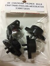 Primer Bulbs for Poulan Crafstman Weedeater Chainsaw 530071835 PP220 PP221 PP260