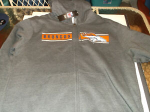 Denver Broncos NFL  Team Apparel Touchback Hoodie by Majestic L