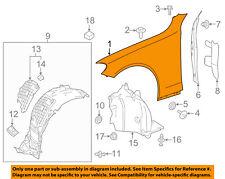 MERCEDES OEM 17-18 C63 AMG-Fender Left 2058804101