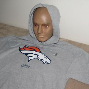 Denver Broncos XL HOODIE Men's NFL Clothing  Brand NEW Sweatshirt
