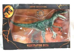 Jurassic World Amber Collection Velociraptor Delta Raptor Squad Figure
