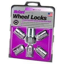 McGard Chrome Cone Seat Wheel Lock Set (1/2-20 Thread Size) - 5 Locks & 1 Key