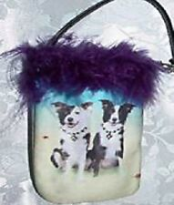 Border Collie Id/Credit Card~ Cell Phone ~Treat Holder