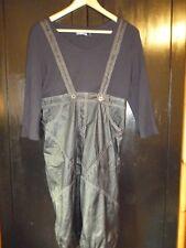 Robe longue bi-matière ET DIEU CREA LA FEMME Taille 38