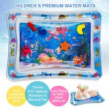 Baby Wasserkissen Spielmatte Aufblasbare  Früherzieh 66x50cm Spielzeug Matte