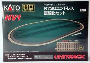 Kato HO Scale UniTrack ~ HV1 Outer Track Oval Expansion Set R730 ~ 3-111