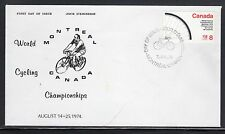 Canada #642 Cycling Fdc Unaddressed a42