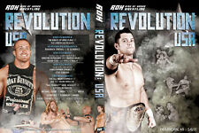 Official Ring Of Honor ROH Revolution USA Event DVD