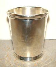 19th Century Peter L. Krider John B. Akin Coin Silver Mint Julep Cup