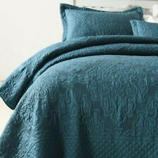 Bedspreads For Double Bed Quilt Set 3 Piece Quilts Embossed Cover bedsheet smoth