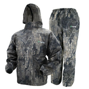 Camo Frogg Toggs All Sport Rain Suit RealtreeTimber Gear Jacket & Pants S SM